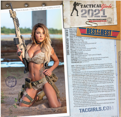 2021 Tactical Girls Gun Calendar