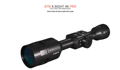 ATN X-SIGHT 4K PRO 3-14 FACTORY REFURBISHED $499.99 w/S&H
