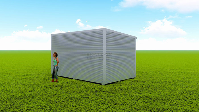 Basic backyard pod kit 3m x 5m flat-pack