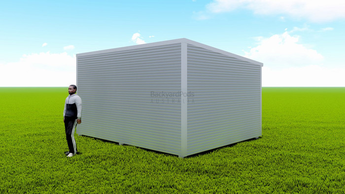 Basic backyard pod kit 4m x 5m flat-pack