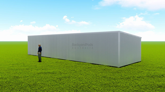 Basic backyard pod kit 4.5m x 15m flat-pack