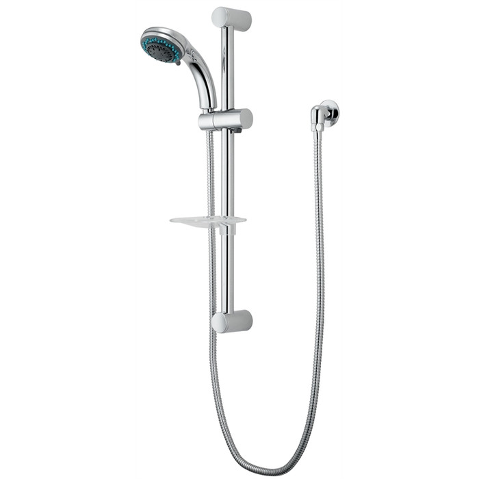 WELS 3 Star Pulsar 5 Function Rail Shower