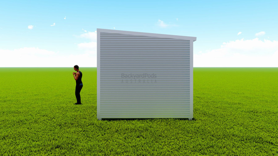 Basic backyard pod kit 3m x 6m flat-pack