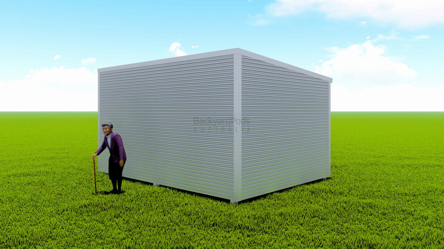 Basic backyard pod kit 3.6m x 5m flat-pack
