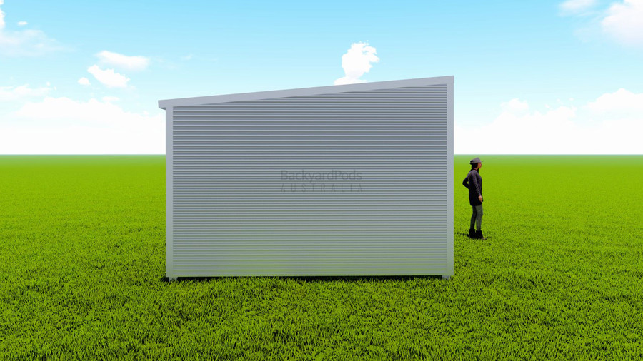 Basic backyard pod kit 4m x 8m flat-pack