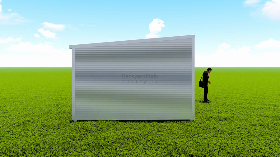 Basic backyard pod kit 4m x 9m flat-pack