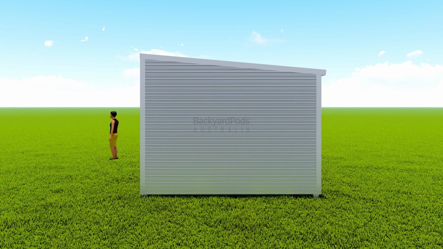Basic backyard pod kit 3.6m x 11m flat-pack