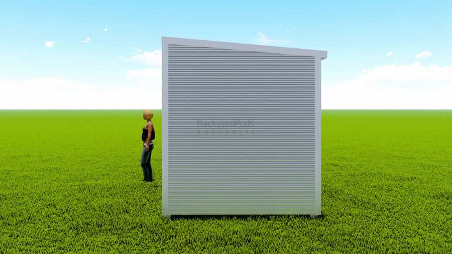 Basic backyard pod kit 2.5m x 6m flat-pack