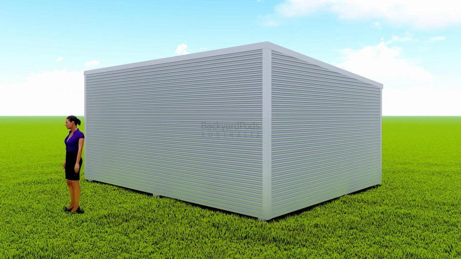 Basic backyard pod kit 4.5m x 6m flat-pack