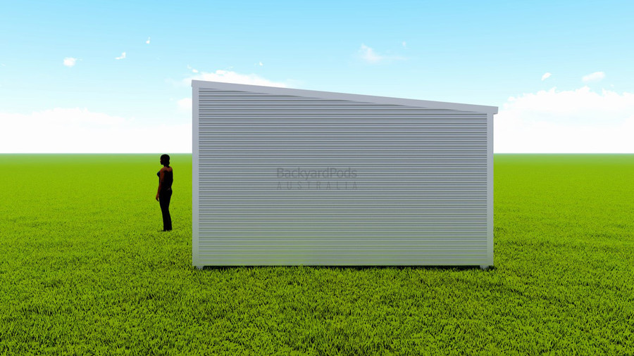 Basic backyard pod kit 4.5m x 8m flat-pack