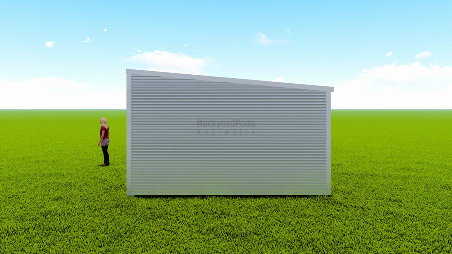 Basic backyard pod kit 4.5m x 10m flat-pack