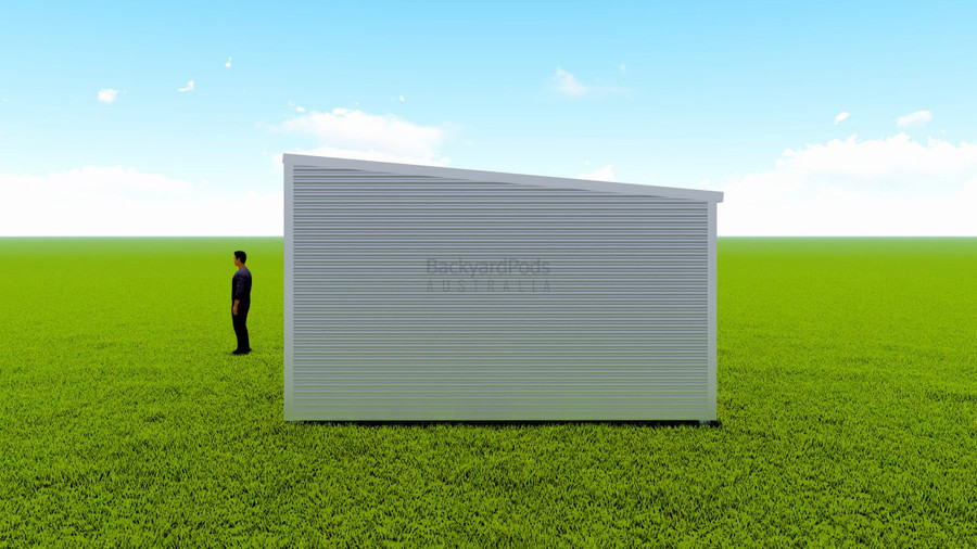 Basic backyard pod kit 4.5m x 11m flat-pack