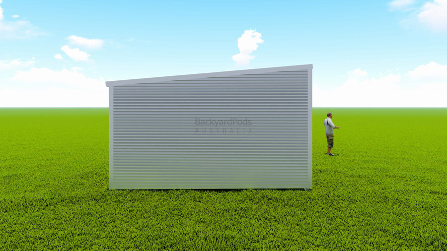 Basic backyard pod kit 4.5m x 13m flat-pack