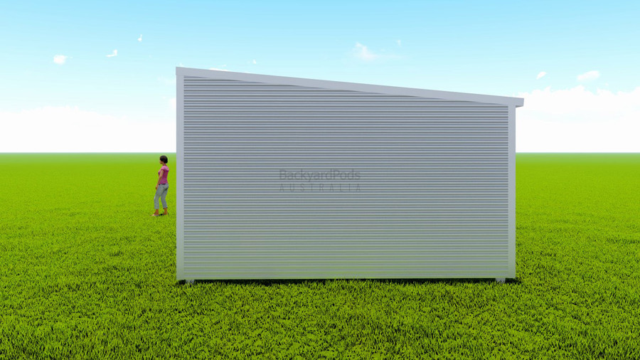 Basic backyard pod kit 4.5m x 16m flat-pack