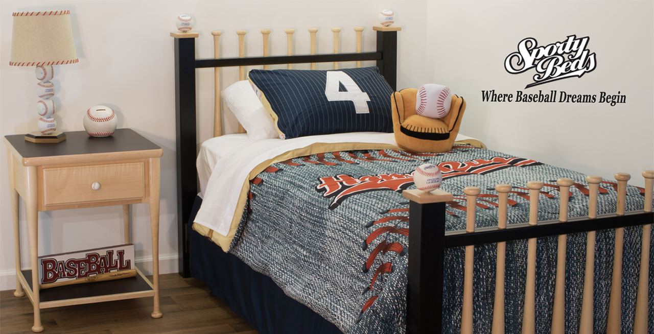 Twin Baseball Bed by Sporty Beds