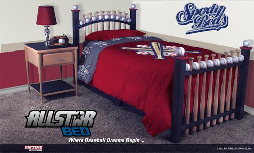 AllStar 3 Piece Twin Bedroom Set / Sporty Beds