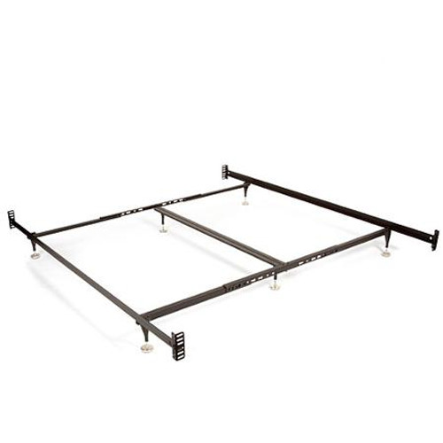 Twin/Full adjustable metal bed frame for headboard and foot-board - See Description for more details.