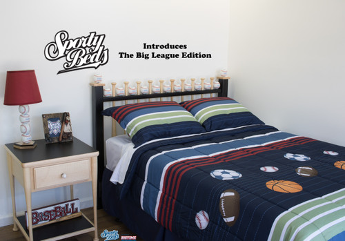 Big League Edition - Queen Size Headboard - Grand Slam Collection / Sporty Beds