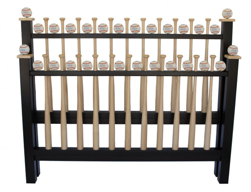 Grand Slam Big League Edition Queen Size Baseball Bed by Sporty Beds