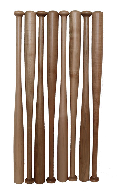 """29"""" Clear coated maple bats"""