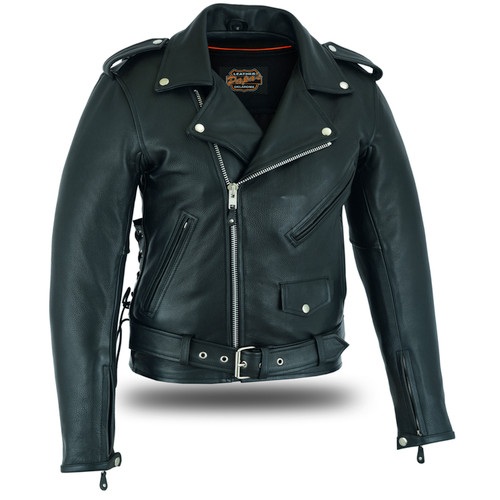 Traditional Motorcycle Jacket