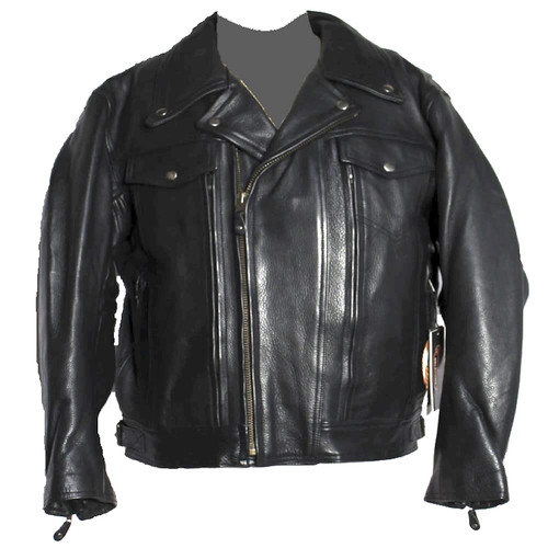 Updated Traditional Motorcyle Jacket