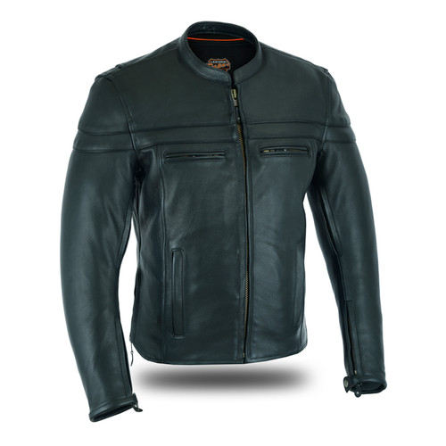 Café Racer Full Grain Naked Leather
