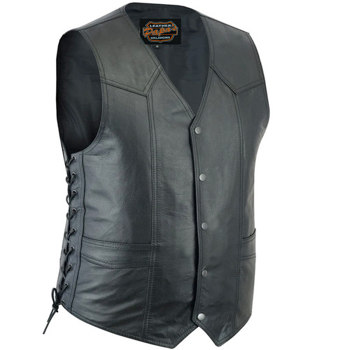 Traditional Motorcycle Vest