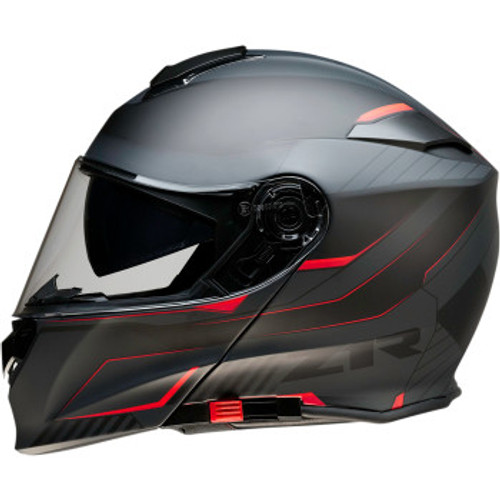Solaris Modular Scythe Helmet Black/Red