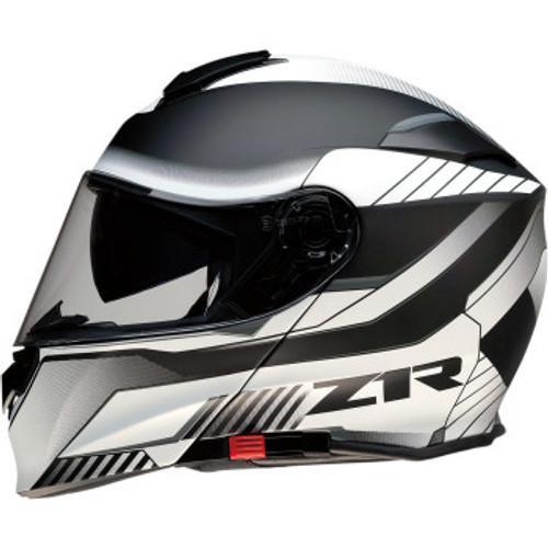 Solaris Modular Scythe Helmet White/Black