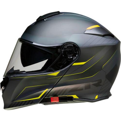Solaris Modular Scythe Helmet Black/Hi-Viz