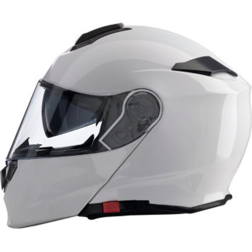 Solaris Modular Helmet - White