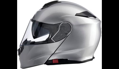 Solaris Modular Helmet - Silver