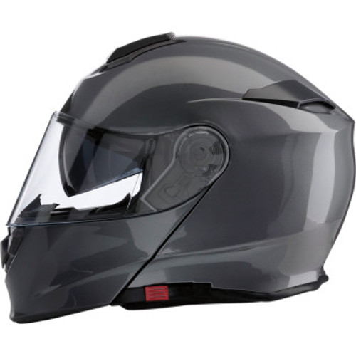 Solaris Modular Helmet - Dark Silver