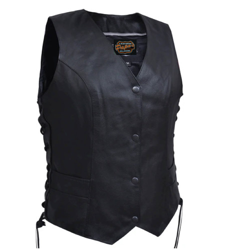 Traditional Vest Milled Leather