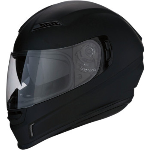 Jackal Solid Helmet Flat Black