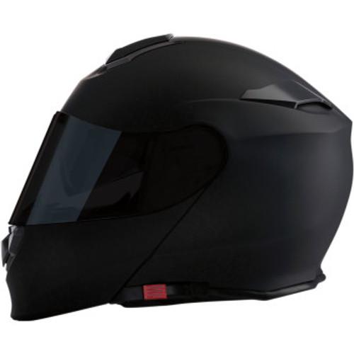 Solaris Modular Smoke Helmet Flat Black