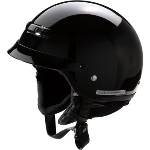 Nomad Solid Helmet Black