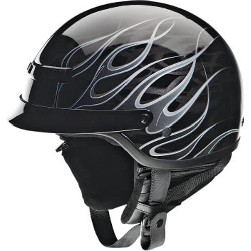 Nomad Hellfire Helmet Black/Silver