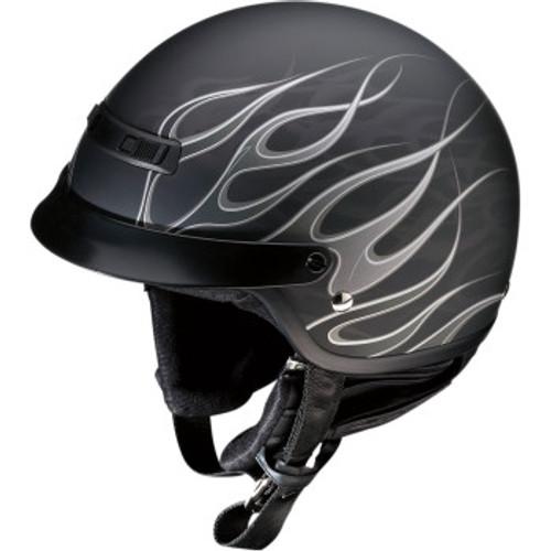 Nomad Hellfire Helmet Flat Black/Gray