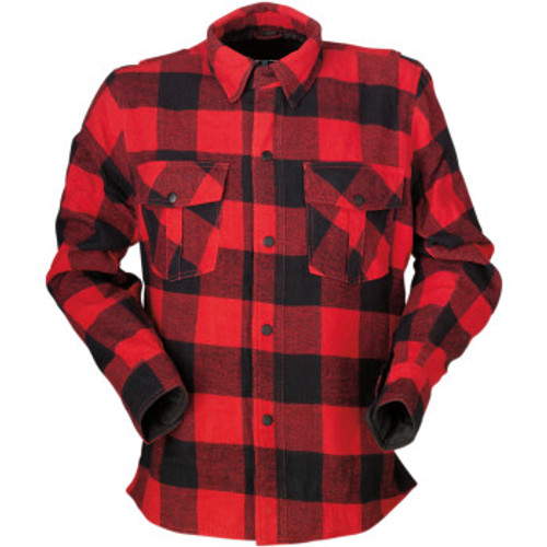Duke Flannel Shirt Red/Blk
