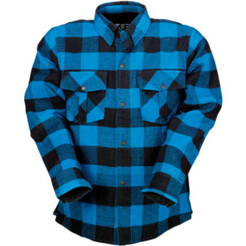 Duke Flannel Shirt Blue/Blk