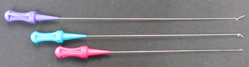 """These wires fit the Mini Fasturn set of 6"""" brass tubes (#1 is just 4"""" long)"""