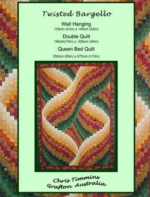 TWISTED BARGELLO PATTERN Fasturn Best Twisted Bargello Quilt Pattern Free