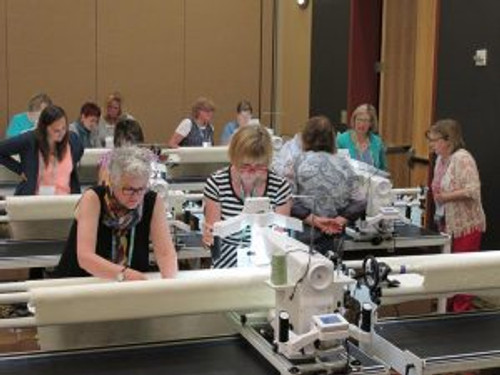 In these classes you'll experience quality, precision, and a world of quilting possibilities on the HQ Amara, Fusion & Infinity.