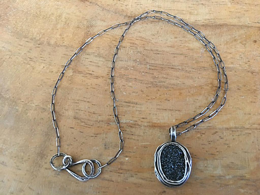 Large Oval Nest Necklace