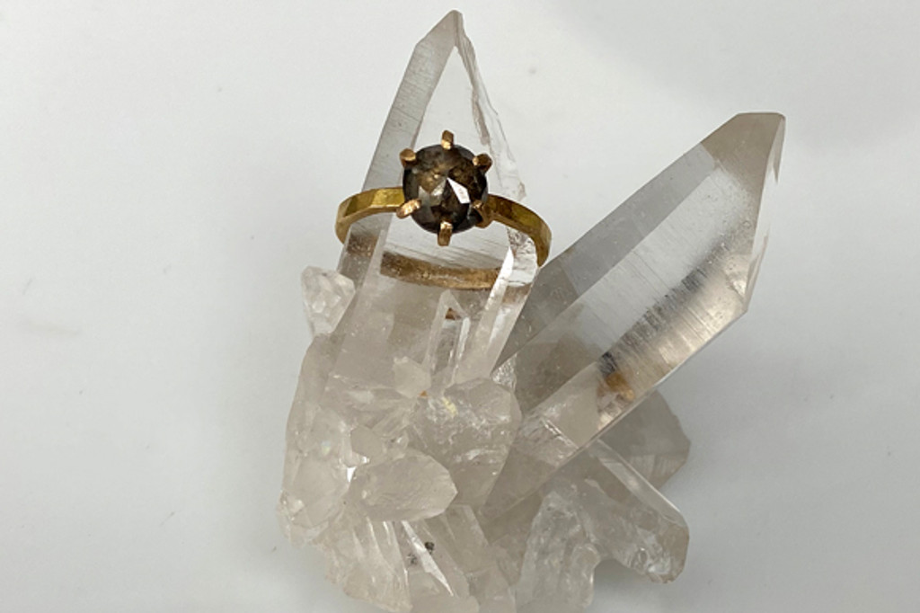 Diamond Sestina Engagement Ring