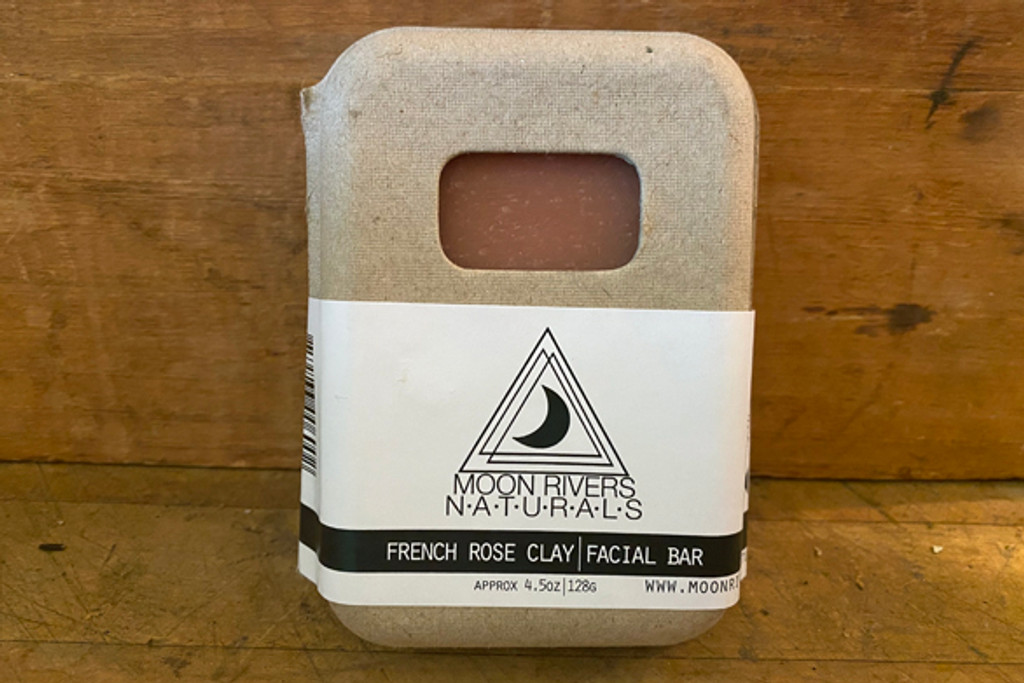 French Rose Clay Face Bar