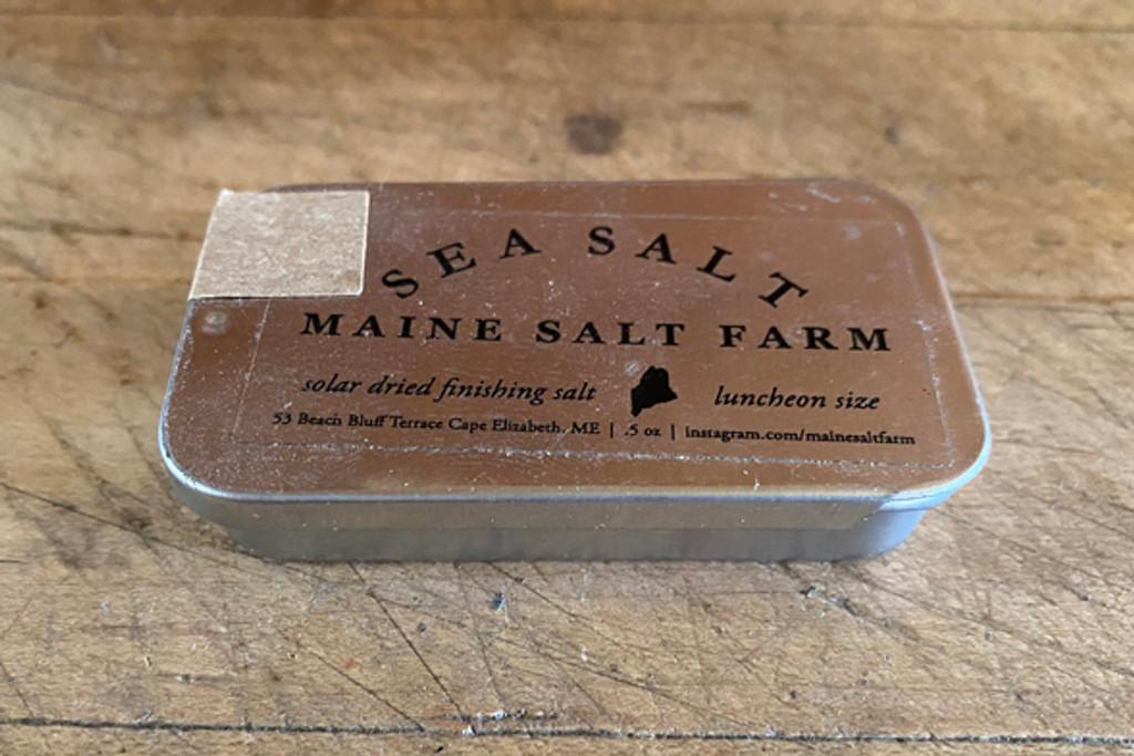 Maine Salt Farm Finishing Salt