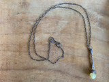 Stick drop necklace